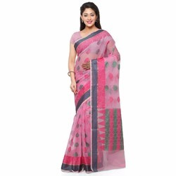 Cotta Cotton Handloom Saree with Blouse Piece