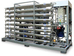 Single Pass Reverse Osmosis Plant