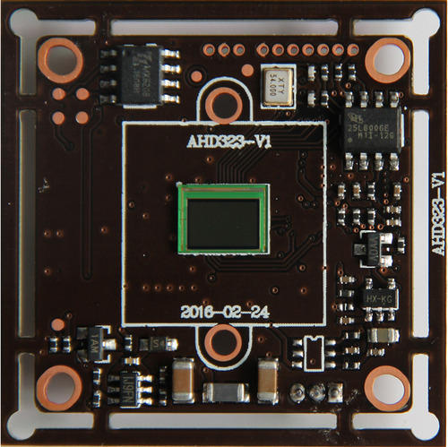 NEW 2.0MP Sony AHD PCB Board 323, Printed Circuit Board, पीसी ...