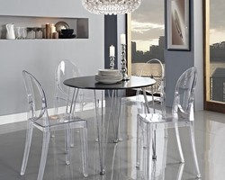 Acrylic Dining Table Acrylic Ki Khaane Ki Mez Suppliers