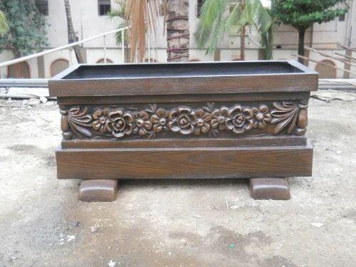 Carved Flower Pot for Plantation