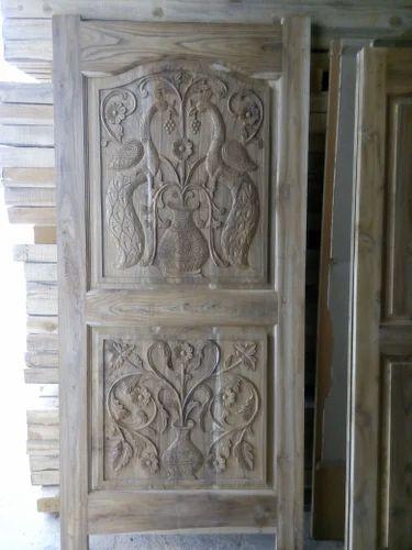 Teak Wood Main Door Single Shutter Sai Srinivasa Wood Doors