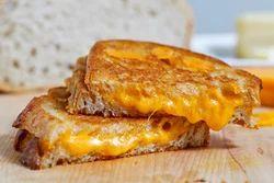 Plain Cheese Sandwich