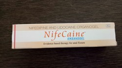 Nifecaine - Nifedipine and Lidocaine Organogel