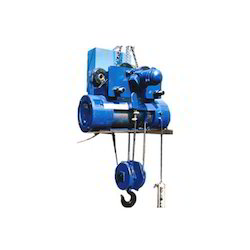 Wire Rope Hoist for Load Lifting at Docks