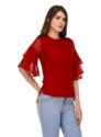 Red Girls Fancy Top