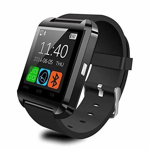 Keimav Black Bluetooth Smart Watch, C-001