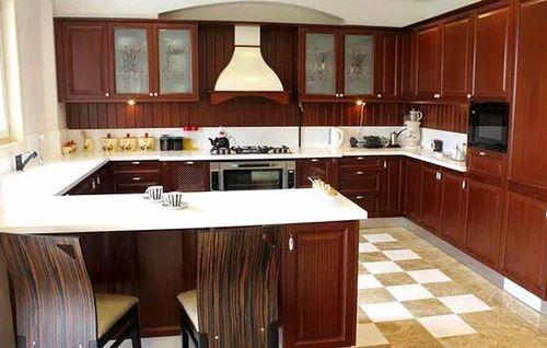 G Shape Modular Kitchen at Rs 3300 square feet