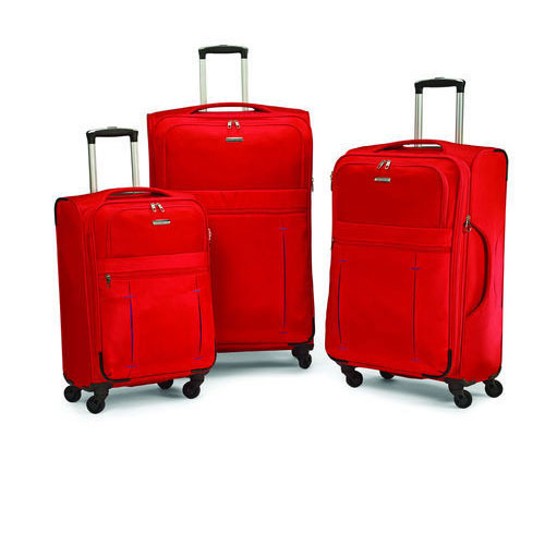 Lightweight Set of 4 Suitcases Wheeled fichier Suitcase Trolley Case Travel Luggage bag