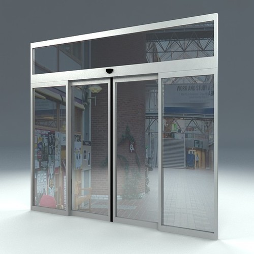 Automatic Sliding Doors At Rs 100000 Sets Automatic Sliding