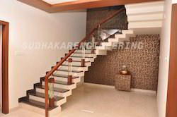 Customized Staircase Handrails