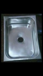 Rectangular Single Bowl SS Kitchen Sink