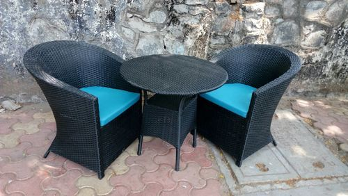 Global Corporation White Outdoor Aluminium Furniture