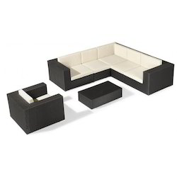 Wicker Modular Sofa Set