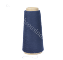 Blue Polyester Wool Blend Yarn, For Weaving, For Garments