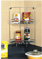 Double Corner Plain Rack