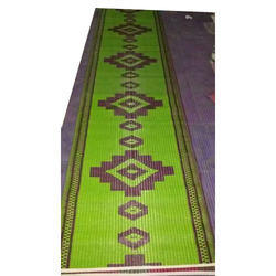 Green Recycled Plastic Mat, For Home, Mat Size: 3x9 Ft
