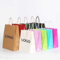 Colorful Printed Carry Bags