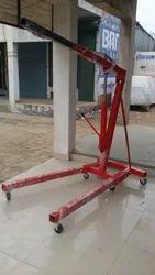 U Model Mobile Floor Crane
