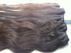 Virgin Wavy Machine Weft Hair