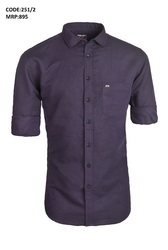 Purple Linen Wear Shirt