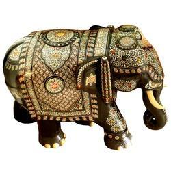 Rosewood Inlay Elephant