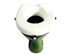 Raised Toilet Seat With Clamp 8 Cm
