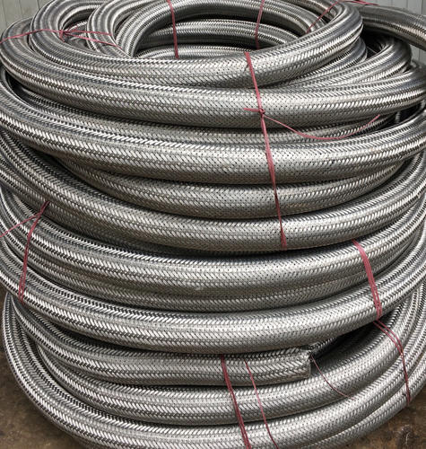 "Flexschlauch Armoured Hose Stainless Steel,3//4 /"" 1 /"",Straight or Arch,0,5-1m"