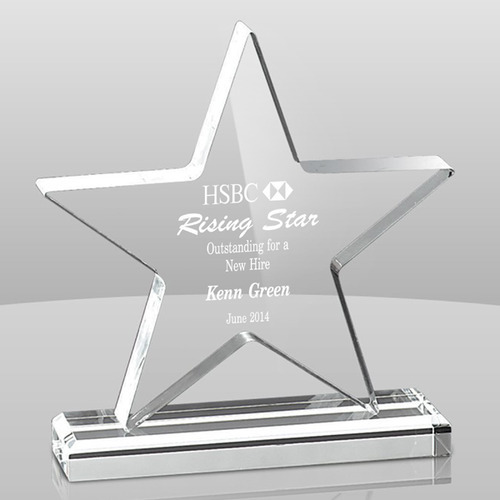 Star Acrylic Trophy