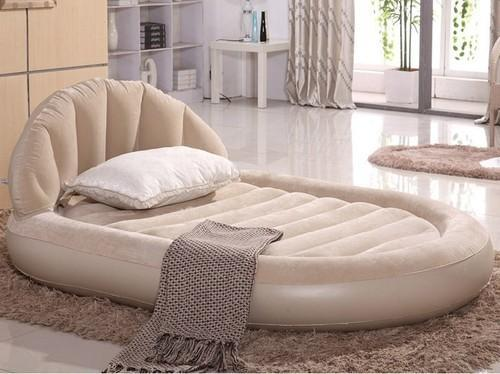 Block Fusion Inflatable Air Bed 67397 For Double Person