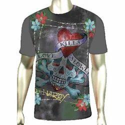 Digital Printing For T-shirt Fabrics