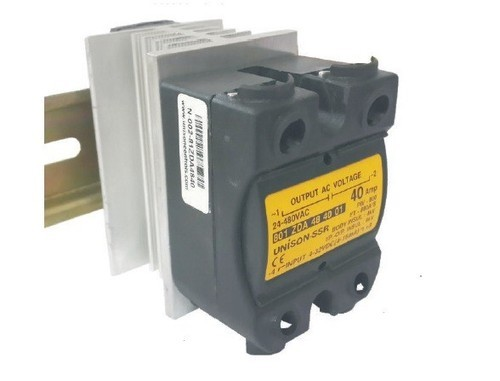 Unison Dc To Ac Solid State Relay 801 Current Rating 40 Amp at Rs