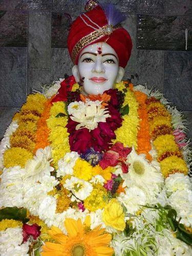 Marble Sant Shri Gajanan Maharaj Sant Shri Gajanan