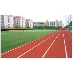 Athletic Track Rubber Flooring