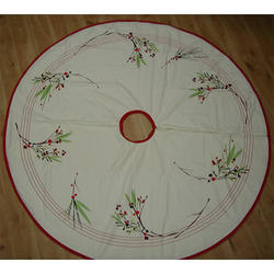 Embroider Tree Skirt