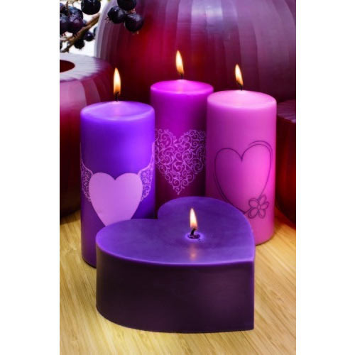 Fancy Candle At Rs 180 Set Garden Candle Id 13256300012