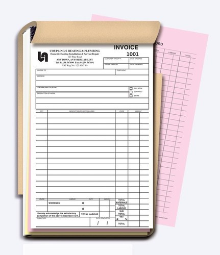 Tax Invoice Book - View Specifications & Details Of Invoice Book