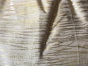 Jute Cotton Gold Print Fabric