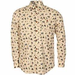 Men's Printed Formal Shirt