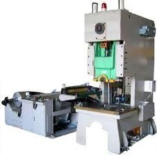 Semi-Automatc Aluminium Foil Container Machine