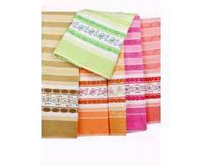 Classic Gold Embroidered Bath Towel