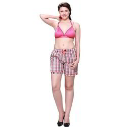 Ladies Trendy Boxer Shorts