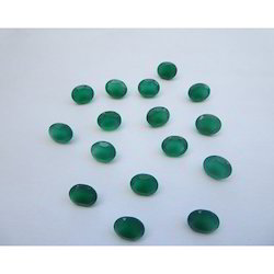 Natural Green Onyx Gemstone
