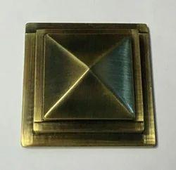 Royal Pyramid Brass Door Doom
