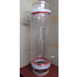Laboratory Transparent Jacketed Vessel