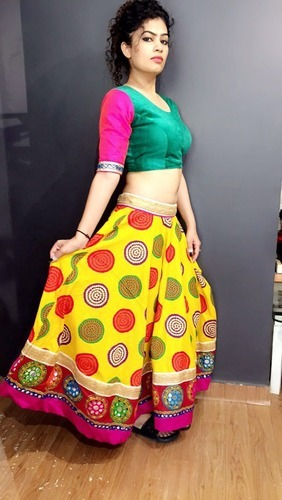 25289111ecb5d3 Indian Embroidery Work Lehenga Choli at Rs 1200 /piece(s ...