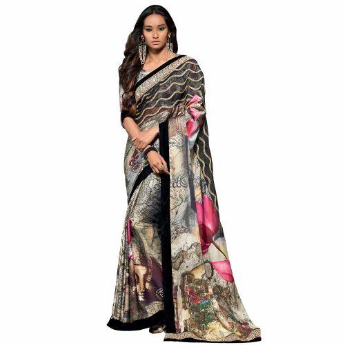 0213ee4d622 Chanderi Saree - Chiffon Saree Exporter from New Delhi