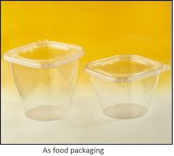 PP Plastic Container, Thickness: 0.23 mm
