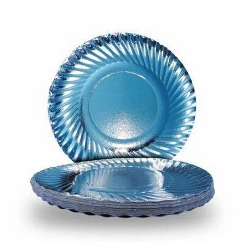 Silver Paper Plate  sc 1 st  IndiaMART & Silver Paper Plate at Rs .48 /plate   Silver Foil Paper Plates   ID ...