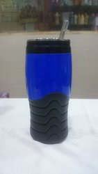 Blue And Black Sipper Bottle, Capacity: 500 Ml